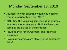 Monday, September 13, 2010