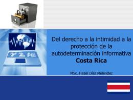 El derecho a la autodeterminación informativa: