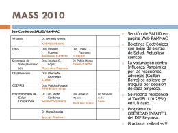 CRI 2010 - Reynosa Asociación de Maquiladoras y