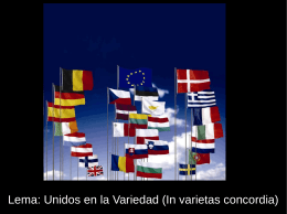 13. La Unión Europea