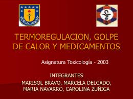 HIPERTERMIA MALIGNA - Universidad de Concepción