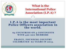 Pourquoi adhérer à l'IPA France