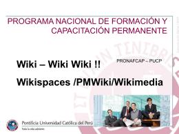 Diapositiva 1 - pronafcapantaminaitem2