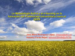 La Metodología Activa y el e