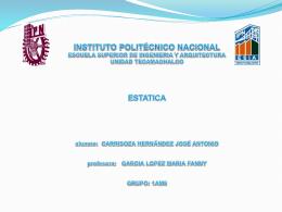 INSTITUTO PÓLITECNICO NACIONAL ESCUELA SUPERIOR DE