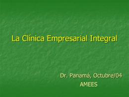 La Clínica Empresarial Integral