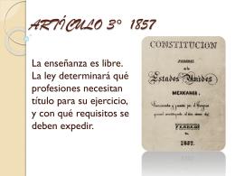 Articulo 3° 1857