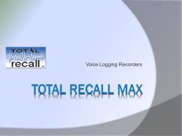 Total Recall - Omnicron Electronics