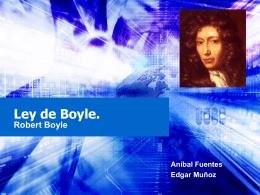 Ley de Boyle.