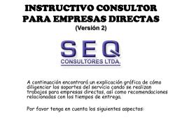 Diapositiva 1 - SEQ Consultores