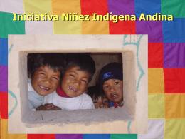 Taller Infancia Indígena Andina