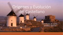 Orígenes y Evolución del Castellano