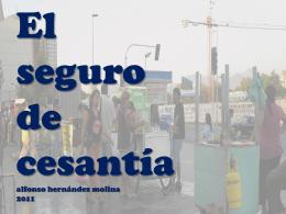 SEGURO DE CESANTÍA - :: Luis Emilio Recabarren