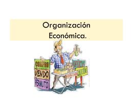 Organización Económica.