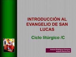 Introduccion a Lucas en Ciclo C