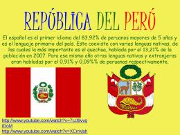 REPÚBLICA DEL PERÚ - DeLetras | Blog de