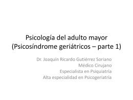 Diapositiva 1 - Psicología Grupo Académico Monarca