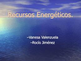 Recursos Energéticos.