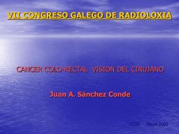 VII CONGRESO GALEGO DE RADIOLOXIA