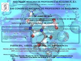 Diapositiva 1 - Departamento de Bioquímica