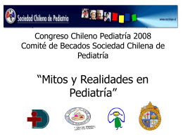 Mitos en Pediatría: Dieta en diarrea aguda