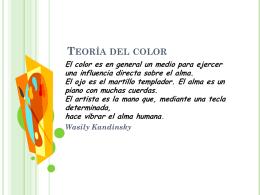 Teoría del color - Liceo Javiera Carrera