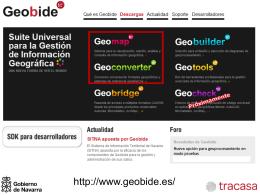 Introducción a la Información Geográfica