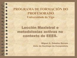FORMACIÓN DE PROFESORES NOVELES