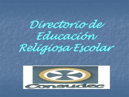 Directorio de Educación Religiosa Escolar