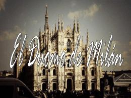El Duomo di Milano - Página Web de la