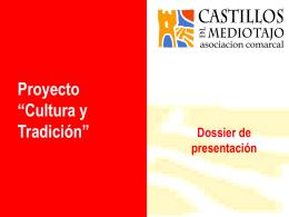 """Proyecto """"Cultura y Tradición"""""""
