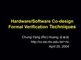 SoC Design Verification