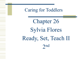 Caring for Toddlers - University of Texas at