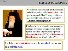CIRCULOS DE DIALOGO, 1