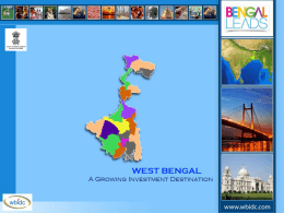 WB and WBIDC - Bengal Chamber of Commerce and