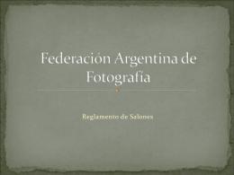 Federación Argentina de Fotografía