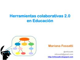Herramientas colaborativas 2.0 en Educación y la