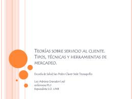 Teorías sobre servicio al cliente. Tipos, técnicas