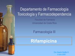 Departamento de Farmacología Toxicología y