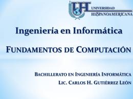 Ingeniería en Informática