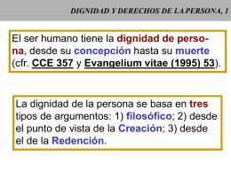 PERSONA HUMANA, 1