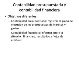 Sistemas de presupuestación - captac