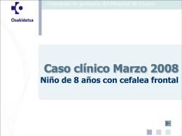 Caso clínico Enero 2008