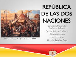 República de las dos naciones