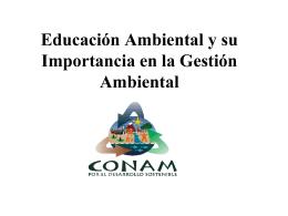 DIRECCIÓN DE EDUCACIÓN Y CULTURA AMBIENTAL