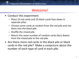VDOE Mathematics Update - Henrico County Public