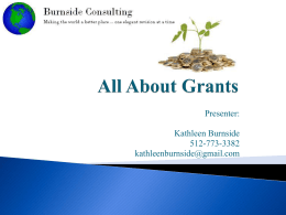 All About Grants