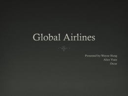 Global Airlines - Simon Fraser University