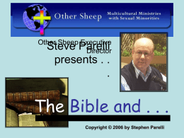 With Steve Parelli presents
