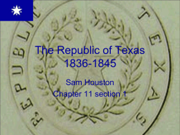 The Republic of Texas - Lake Dallas Independent